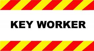 KEY-WORKER-CAR-SIGNS