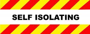 self-isolating-banner